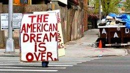 Американская мечта умирает?
